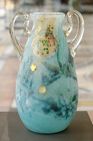 Émile Gallé - Image: Vase Marguerite Gallé Petit Palais OGAL00553 n 1
