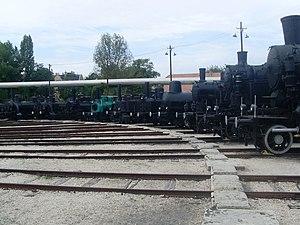 Hungarian Railway History Park - Image: Vasuttorteneti park 019