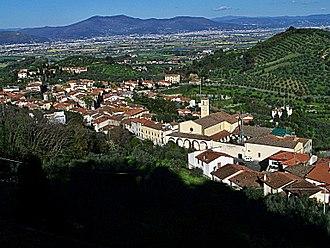 Carmignano - Carmignano view