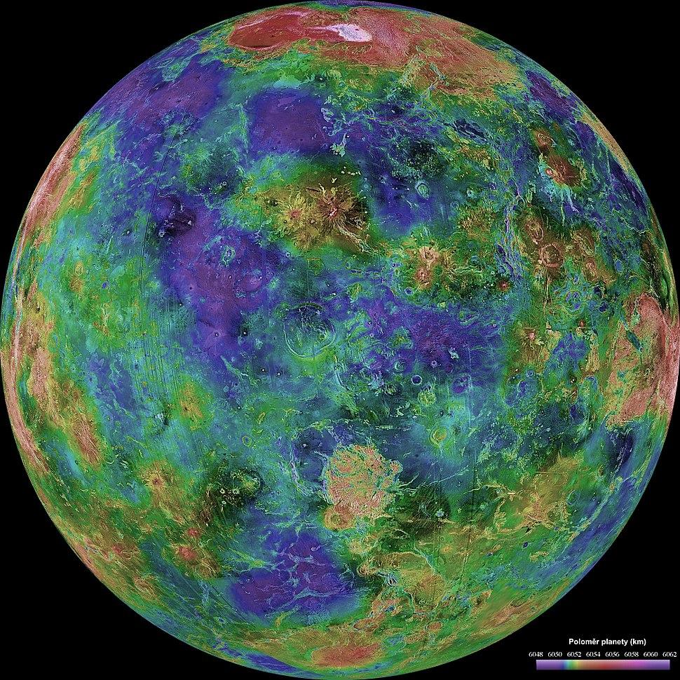 Venus Topo 0 East, 772-,663,-109 cs