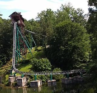 Verbolten Roller coaster at Busch Gardens Williamsburg