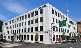 Meier & Frank Delivery Depot historic building in Portland, Oregon, USA