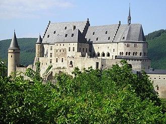 Vianden - Vianden Castle