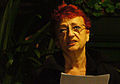 Vienna 2013-08-13 Sittl - 'in memoriam Rolf Schwendter' 064 Agnes Zaunegger.jpg
