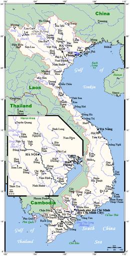Geography of Vietnam - Wikipedia on latitude map of vietnam, relief map of vietnam, climate map of vietnam, population density map of vietnam,