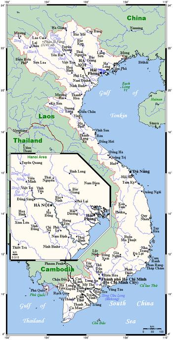 Ha Noi Vietnam Map.Geography Of Vietnam Wikipedia
