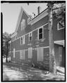 View east, north side elevation - 103-105 Chestnut Avenue (House), Waterbury, New Haven County, CT HABS CONN,5-WATB,20-2.tif