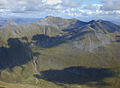 View east from Sgurr a' Mhaim - geograph.org.uk - 628093.jpg