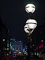 View north along Lower Regent Street from Waterloo Place at Night, November 2011.jpg