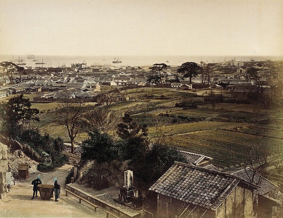 View of Kobe LACMA M.91.377.8
