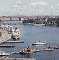 View over Stockholm harbour in 1960.jpg