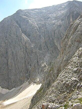 Golemiya Kazan - Vihren seen from Kazanite