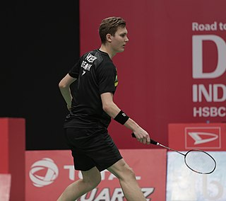 Viktor Axelsen Badminton player