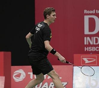 Viktor Axelsen - Axelsen at the 2018 Indonesia Masters