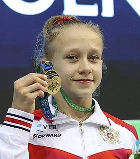Viktoria Listunova Russian artistic gymnast