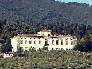 Montemurlo - Image: Villa del Barone 03
