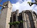 Villemagne-l'Argentière (Hérault, Fr) le haut de l'église.JPG