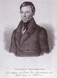 Vincenz Priessnitz, supporter of hydrotherapy.jpg