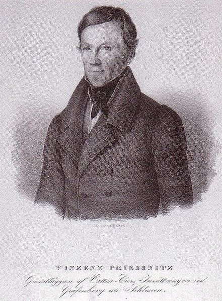 File:Vincenz Priessnitz, supporter of hydrotherapy.jpg
