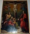 Vincenzo chialli, crocifissione, 1800-40 circa, da duomo di sansepolcro dove copriva il volto santo.JPG