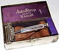 Vintage Valet AutoStrop Silver Plated Safety Razor, Made In USA (23976638819).jpg