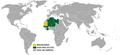 Visa policy of Mauritania.png