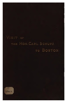 Visit of the Hon. Carl Schurz to Boston, March 1881.pdf