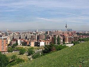 Vista de Madrid desde el sureste 01