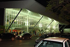 Cândido Rondon - The Marechal Rondon International Airport in Várzea Grande, Mato Grosso.