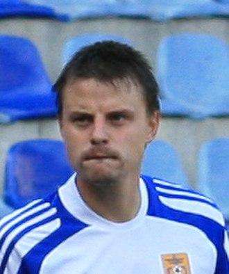 Vladimirs Koļesņičenko - Koļesņičenko playing for FK Ventspils