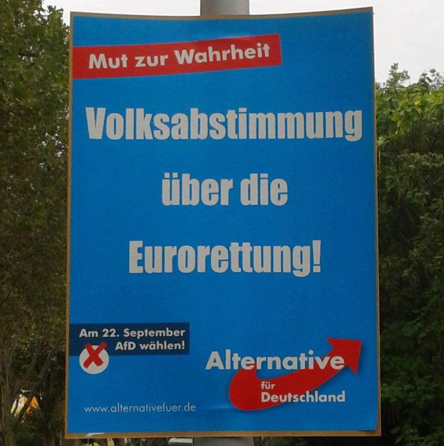Volksabstimmung über die Eurorettung