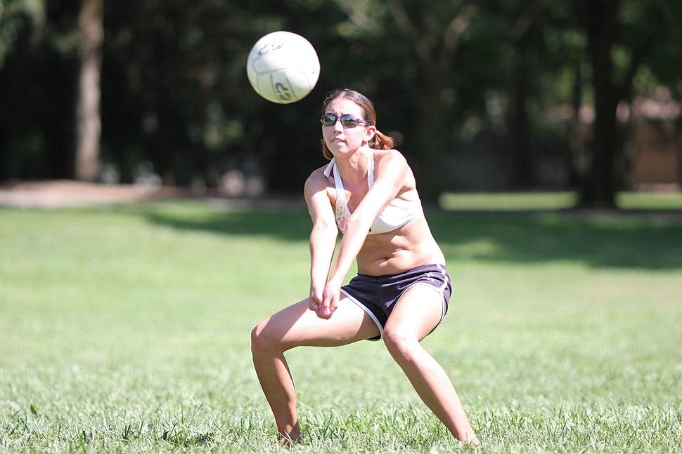 Volleyball reception