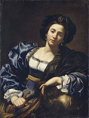 Book of Judith - Judith with the Head of Holophernes, by Simon Vouet, (Alte Pinakothek, Munich)