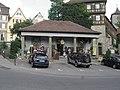 Württembergische Wache, Säumarktturm und Malefizturm in Schwäbisch Hall.jpg