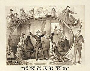 John Baldwin Buckstone - Image: W.S. Gilbert's burlesque comedy, Engaged