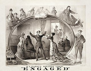 <i>Engaged</i> (play) play by W. S. Gilbert