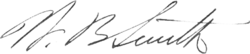 W. B. Smith signature.png
