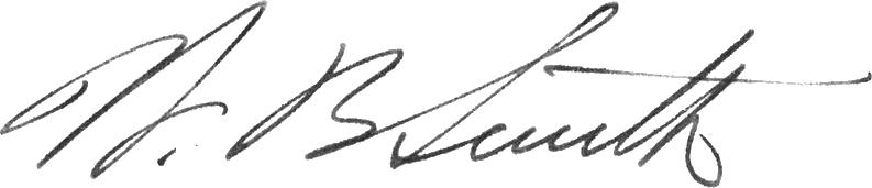 Walter Bedell Smith's signature