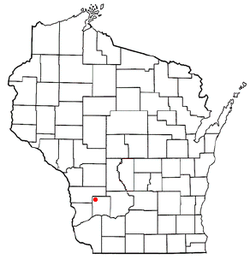 Location of Forest, Richland County, Wisconsin