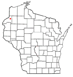 Location of Jackson, Wisconsin