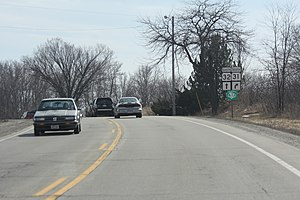 Great Lakes Circle Tour - LMCT in southern Wisconsin concurrent with WIS 32