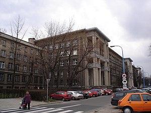 """Dzerzhinsky Political-Military Academy in Warsaw - Buildings of the former """"Dzerzhinsky Political-Military Academy"""" in Warsaw"""