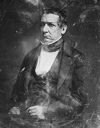 William M. Meredith - Mathew Brady Daguerreotype of William Meredith taken during the 1840s