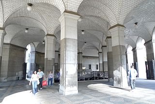 Brooklyn Bridge–City Hall/Chambers Street station New York City Subway station complex in Manhattan