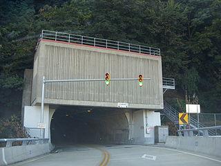 Wabash Tunnel tunnel in Pittsburgh, Pennsylvania