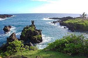 Waiʻanapanapa State Park - Coast at Waiʻanapanapa State Park, on the island of Maui.