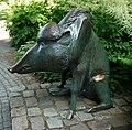 Waldemar Grzimek Wildschwein (Bronze) - panoramio.jpg
