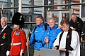 Walk on Wales- £1million charity walk in aid of Welsh soldiers sets off from the Senedd-Walk on Wales- Taith gerdded elusennol gwerth £1 miliwn yn cychwyn o'r Senedd (10687581813).jpg