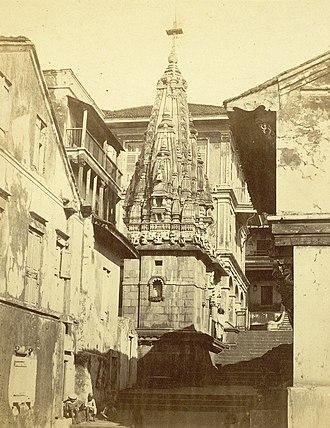 Walkeshwar - Image: Walkeshwar, Bombay, c. 1855