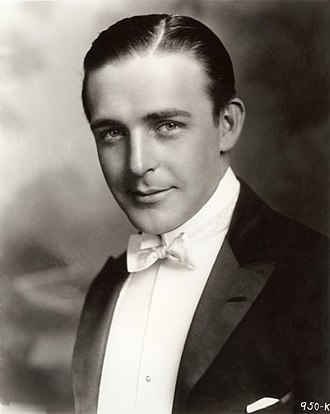 Wallace Reid - Reid in a publicity portrait from the Famous Players-Lasky Studio (1920)